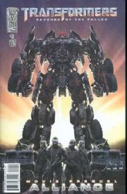 Transformers Revenge Of The Fallen Movie Prequel Alliance #1 Cover B IDW Publishing comic book